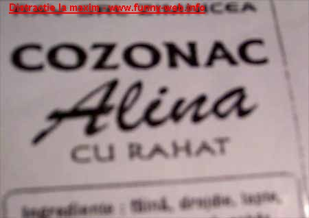 Cozonac Alina