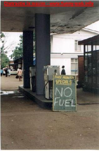 Benzina in Africa